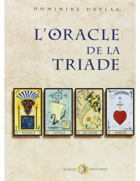 L'Oracle de la Triade (livre) - Dominike Duplaa