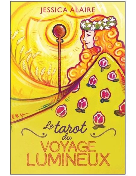 Le tarot du Voyage Lumineux - Coffret - Jessica Alaire