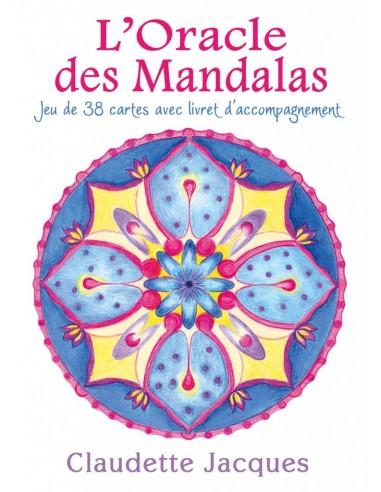 L'Oracle des Mandalas - Jeu de 38 cartes avec livret d'accompagnement - Claudette Jacques