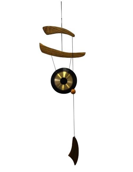 Carillon Empereur Bois et Métal