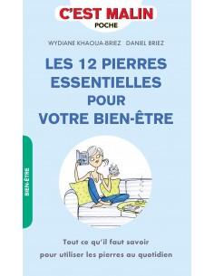 Les 12 pierres essentielles pour votre bien-être - Daniel Briez & Wydiane Khaoua-Briez