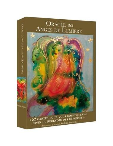 Les anges de lumière : Cartes oracles. Laissez les anges éclairer votre chemin - Ambika Wauters