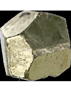 Pyrite dodécaèdre naturel - Sachet de 250 gr.