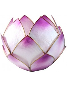 Bougeoir Lotus Crépuscule Lavande