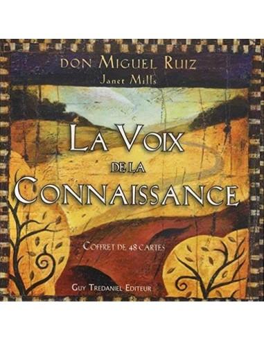 La Voix de la Connaissance - Coffret de 48 cartes (1ère édition) - Don Miguel Ruiz & Janet Mills