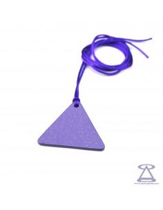 Pendentif Triangle homme SUNNY - Tesla Purple Plate