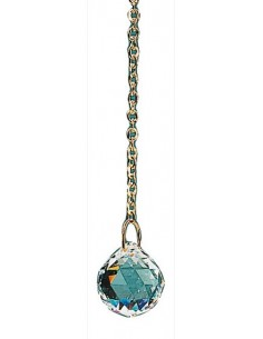 Pendule Boule Hypnotique Swarovski 20mm