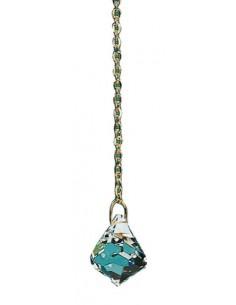 Pendule Cristal Diamant Swarovski