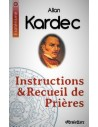 Instructions recueil prières - Allan Kardec