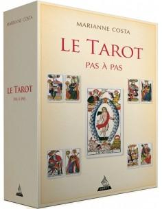 Le tarot pas à pas : Iconographie, histoire, interprétation, lecture,... - Marianne Costa