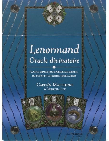 Lenormand Oracle divinatoire : Cartes oracle pour percer les secrets du futur et connaître votre avenir - Caitlin Matthews