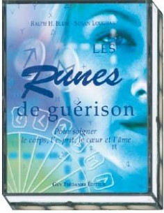 Les runes de guérison - Coffret livre + 25 runes - Ralph H. Blum & Susan Loughan