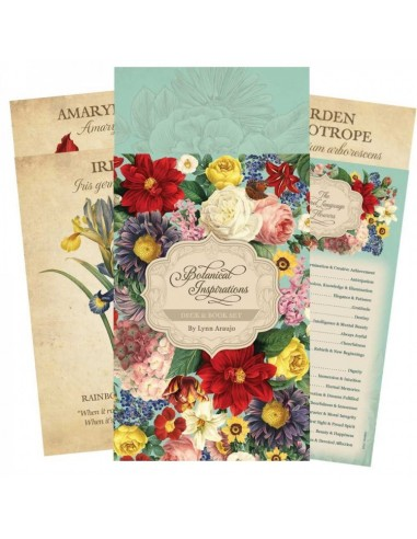 Botanical Inspirations Deck & Book Set [anglais]
