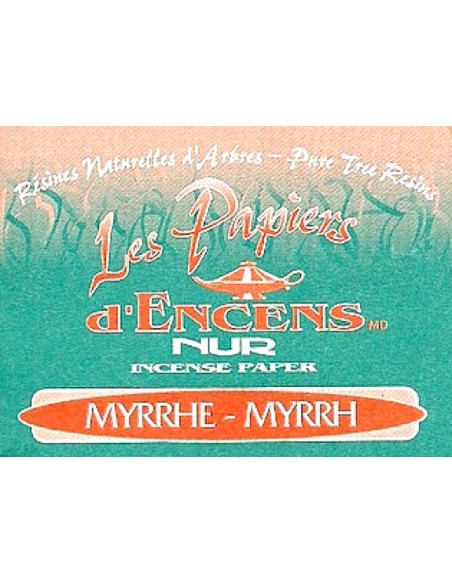 Nur Papier Myrrhe