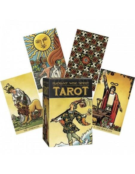 Radiant Wise Spirit Tarot Cards - A. E. Waite & Pamela Colman Smith