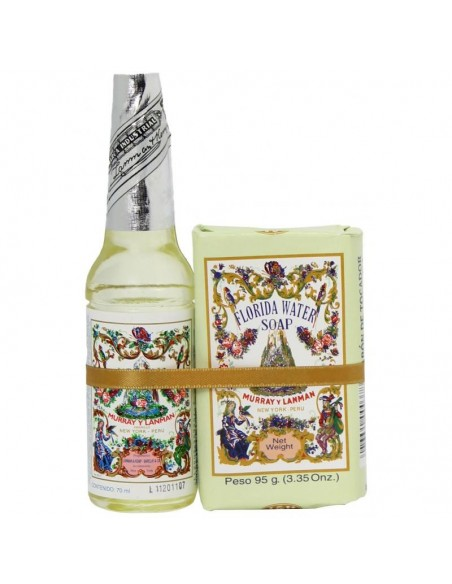 Agua de Florida 70 ml + Savon Florida 95 gr - Murray & Lanman