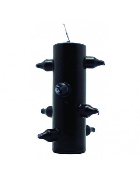Bougie 7 mèches Noire