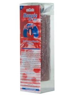 Grande Bougie de sel Rouge