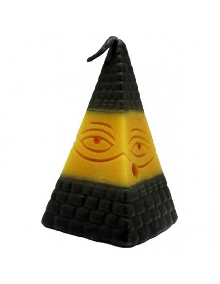 Bougie figurative Pyramide contre le négatif (simple)
