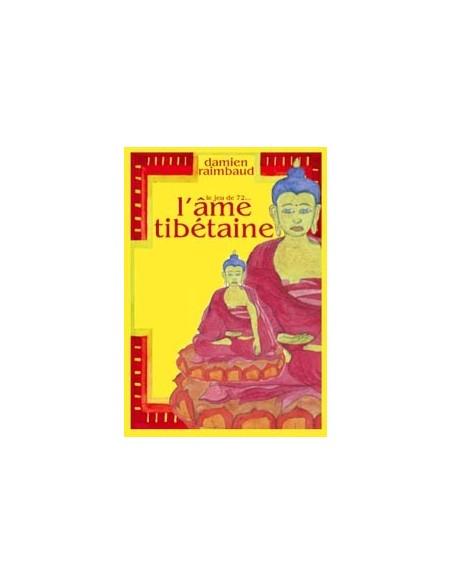 Ame tibétaine livre + jeu 72 cartes - Damien Raimbaud