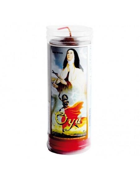 Cierge Orisha Oya (avec tube protecteur)