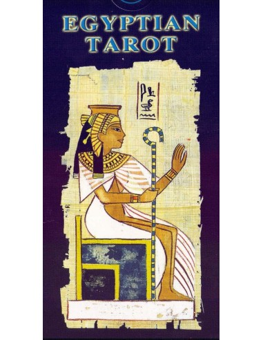 Tarot Égyptien - Egyptian Tarot -...