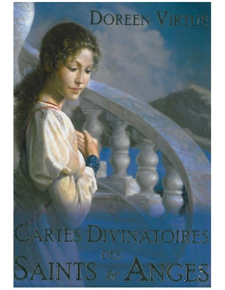 Cartes divinatoires des Saints & Anges (coffret livret + 44 cartes) - Doreen Virtue