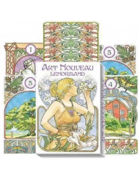 Lenormand Art Nouveau - Lunaea Weatherstone & Antonella Castelli