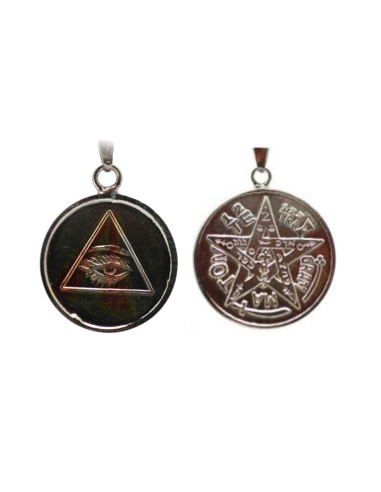 Amulette Oeil de la Providence + Tétragrammaton