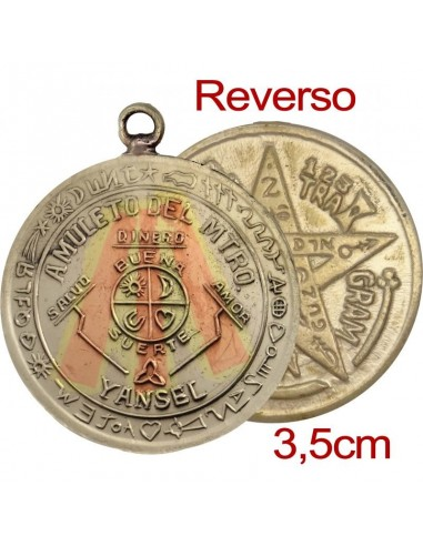 Amulette Yansel avec Tétragrammaton 3.5 cm