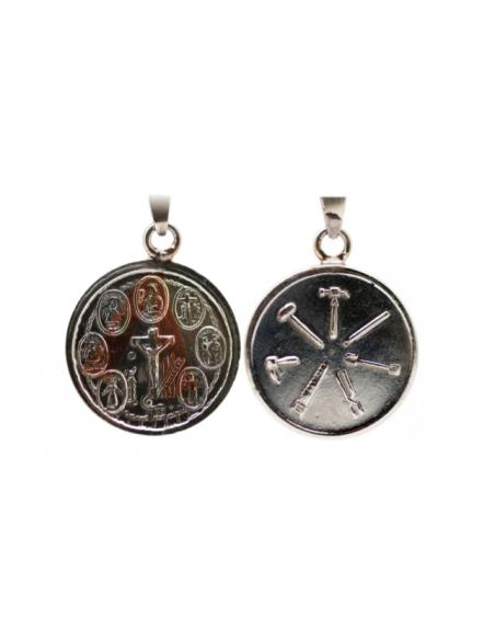 Amulette 7 Puissances avec 7 Outils 3.5 cm