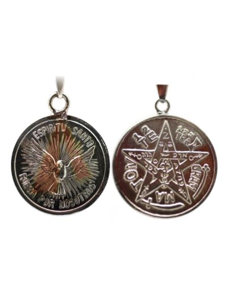 Amulette Saint-Esprit avec Tétragrammaton 2.5 cm