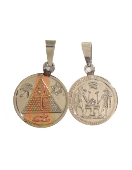 Amulette Puissance égyptienne avec Thot Anubis