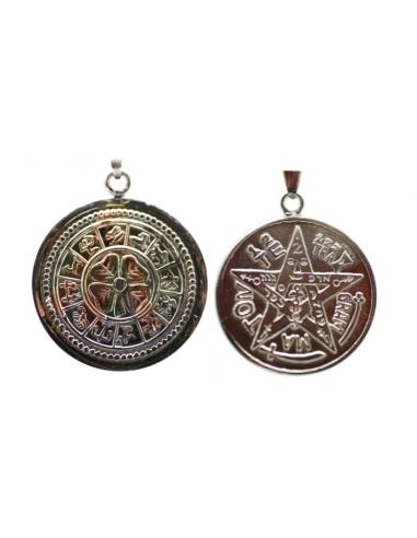 Amulette Chance (Trèfle et signes astrologiques)