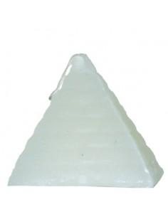 Bougie figurative Pyramide blanche ou jaune