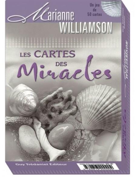 Les cartes des Miracles - 50 cartes de méditation-Marianne Williamson