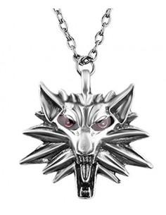Pendentif Witcher Tête de Loup