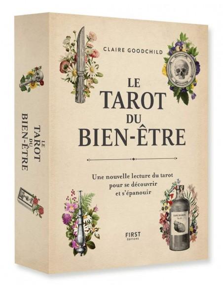 Le Tarot du bien-être - Une nouvelle lecture du tarot pour se découvrir et s'épanouir - Claire GOODCHILD
