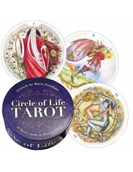 Tarot Cercle de Vie : 78 cartes de tarot en forme de cercle - Maria Distefano