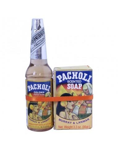 Eau de Patchouli 70 ml + Savon Patchouli 95 gr - Murray & Lanman