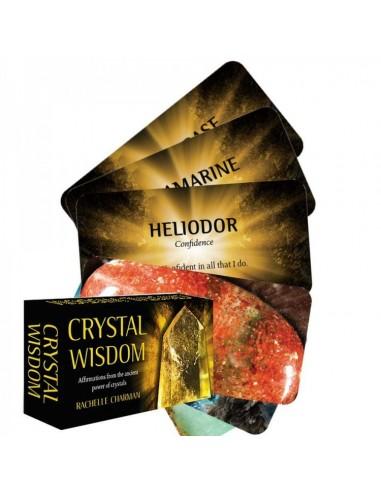 Crystal Wisdom Inspiration Cards - Rachelle Charma