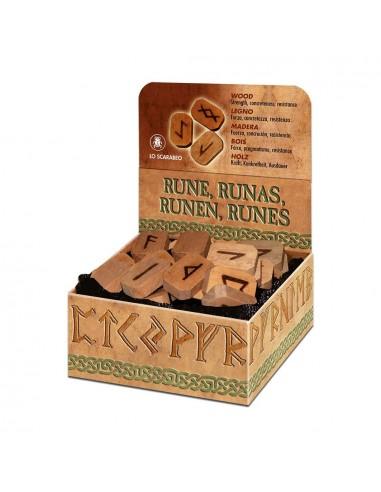Runes en bois Lo Scarabeo
