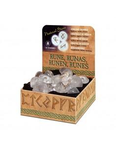 Runes en Cristal de Roche Lo Scarabeo