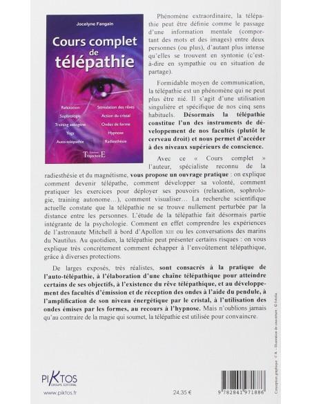 Cours complet de télépathie - Jocelyne Fangain