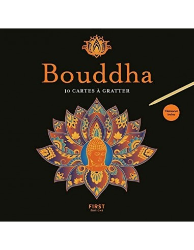 Cartes à gratter - Bouddha - Lisa MAGANO