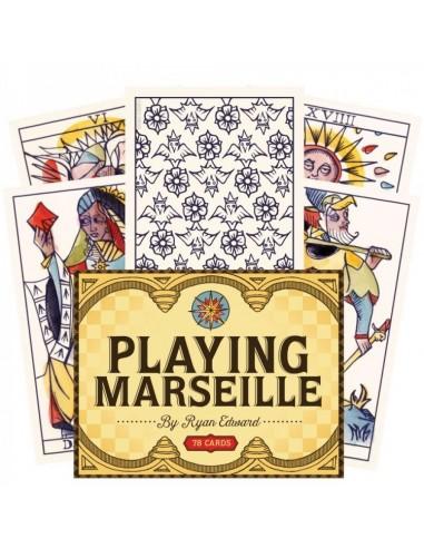 Playing Marseille Tarot Cards - Ryan...