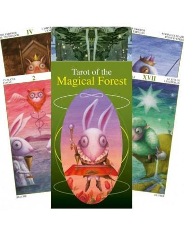 Tarot de la forêt magique - Leo Tang