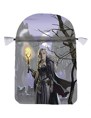 Witches Moon Satin Tarot Bag - Ellen...