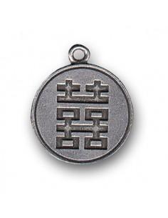 Pendentif Double-Bonheur Feng Shui