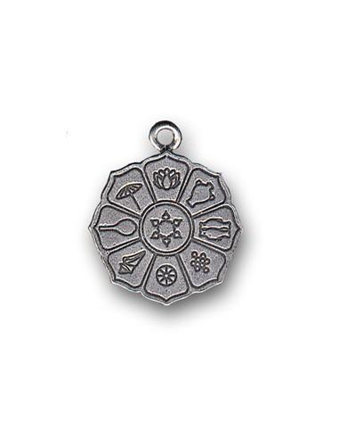 Pendentif 8 Symboles de Protection Feng Shui